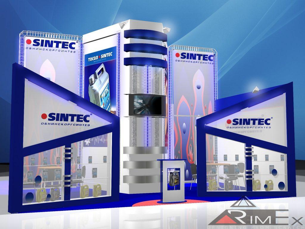 Компания Sintec Выставка Mims - Моторшоу -автомеханика