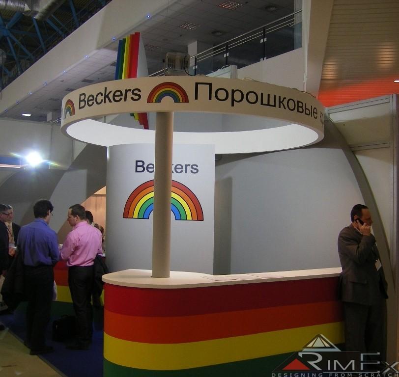 Компани Beckers Выставка Интерлакокраска