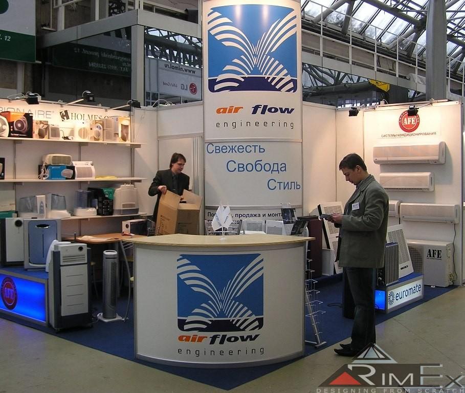 Air Flow Engineering на выставке Мир Климата