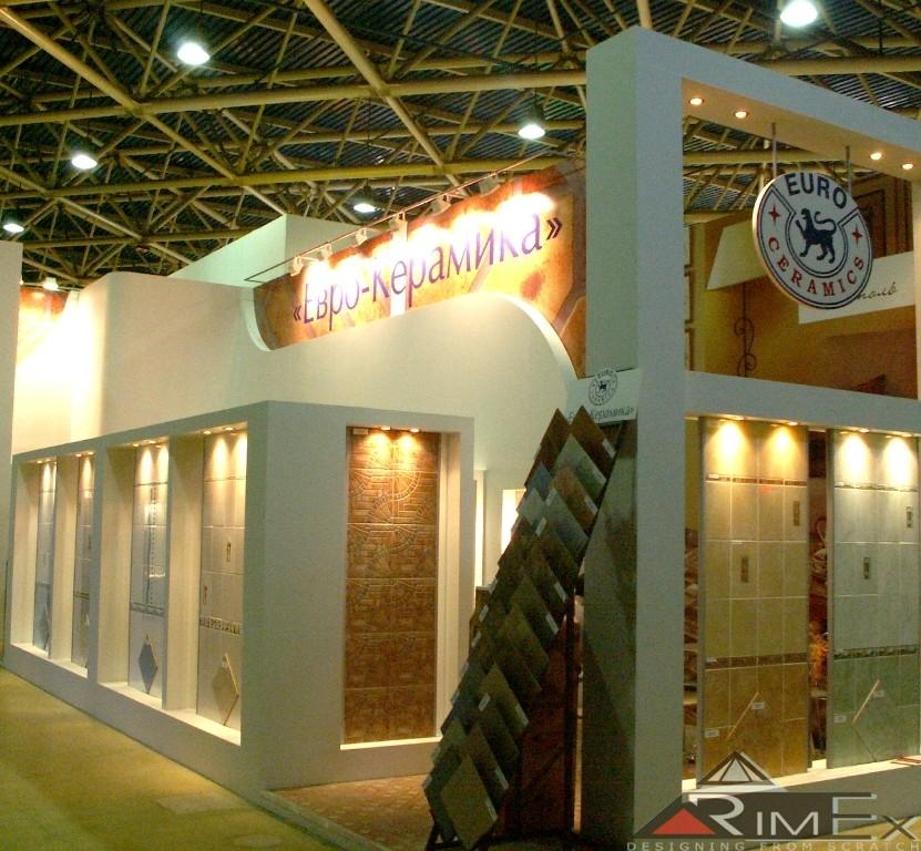 Компания: ЕвроКерамика Выставка: Мосбилд — Mosbild