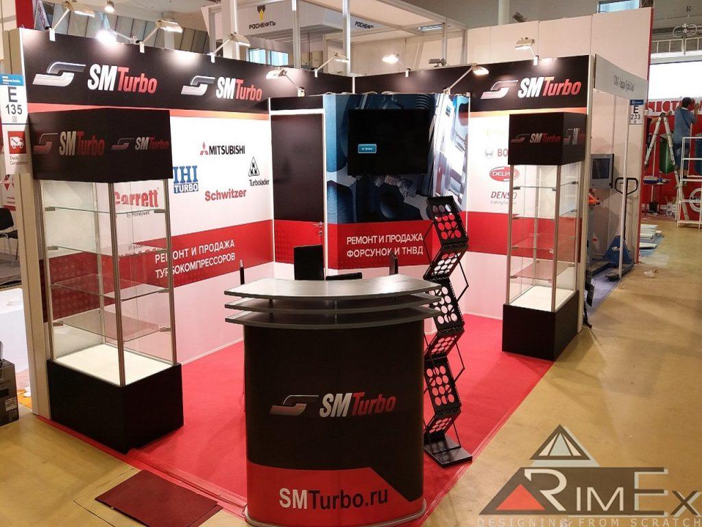 SM-Turbo эксклюзивный выставочный стенд