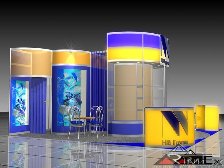 Компания НВ проект Выставка Канцэкспо Скрепка Экспо