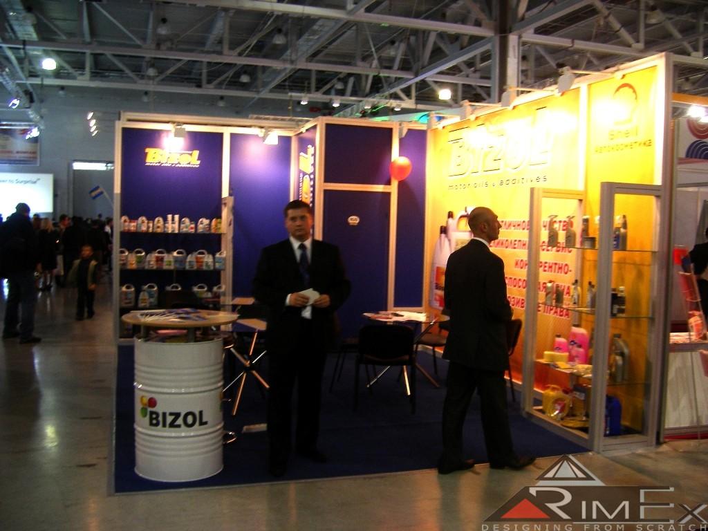 Выставочный стенд для Bizol