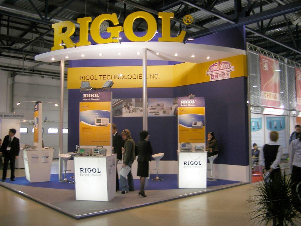 Выставочный стенд для Rigol