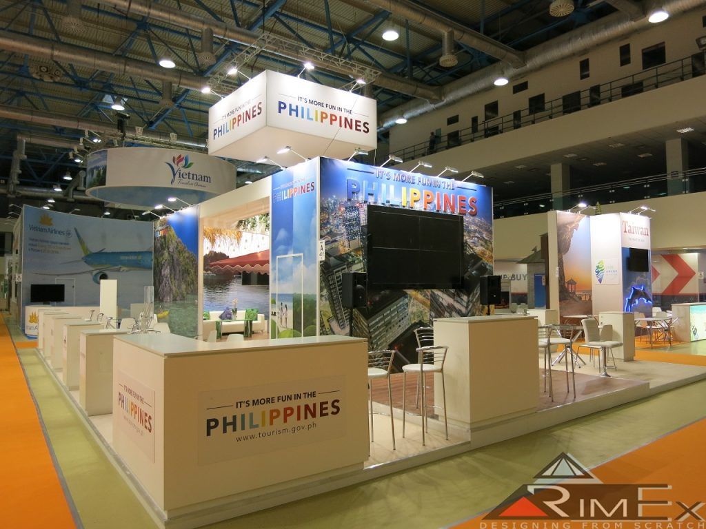 Выставочный стенд для филиппины/philippines на выставке mitt