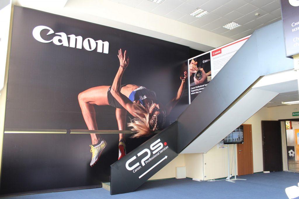 Canon Оформление шоу-рума на чемпионате мира IAAF