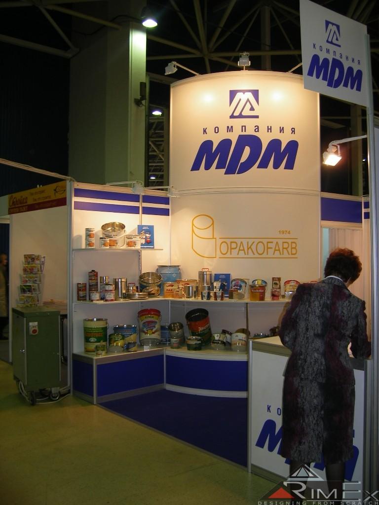 Компания МДМ Выставка Интерлакокраска