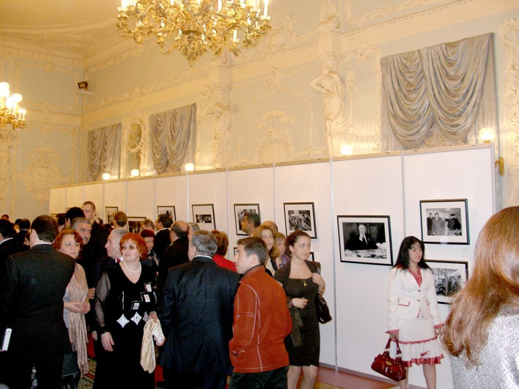 Вечер памяти Гейдара Алиева