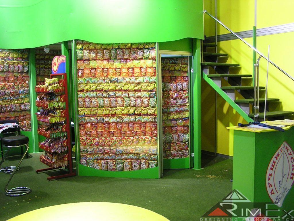 Строительство выставочного стенда БриджТаун на выставке World Food 2003