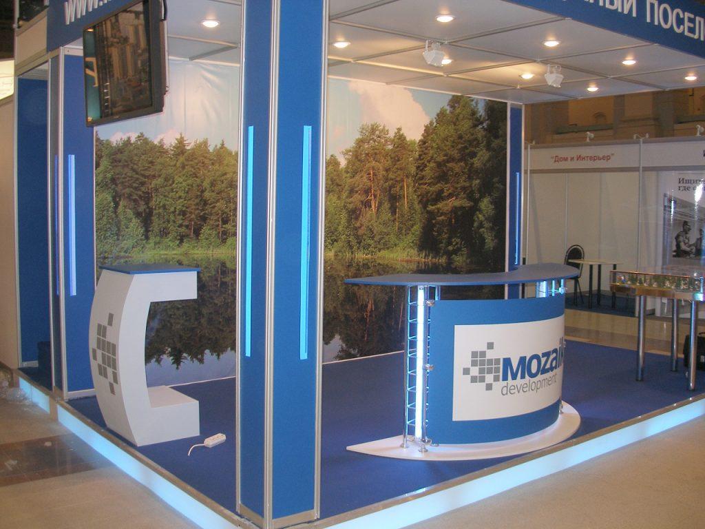 Выставочный стенд для Mozaik
