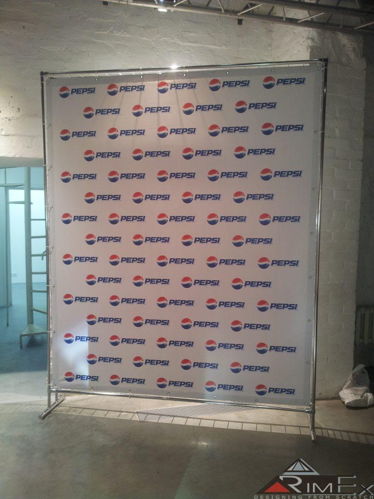 Пресс вол для Pepsi