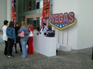 Торжественное открытие ТЦ Вегас