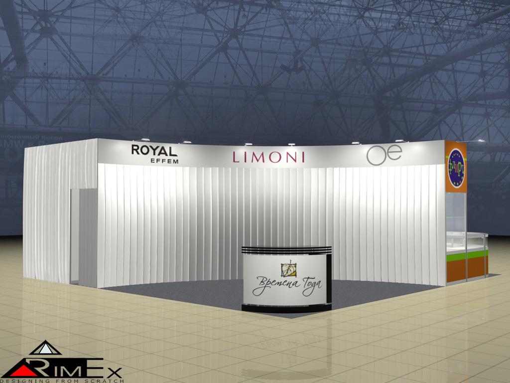 Выставочный стенд для Royal FM