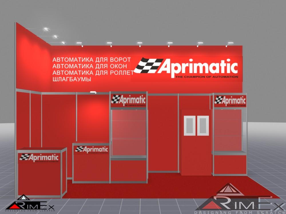 Выставочный стенд для Aprimatic