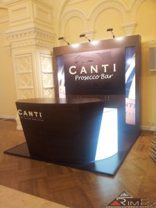 Многоразовый стенд для CANTI