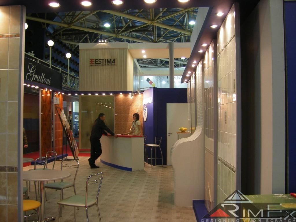Компания ЕвроКерамика Выставка Мосбилд - Mosbild
