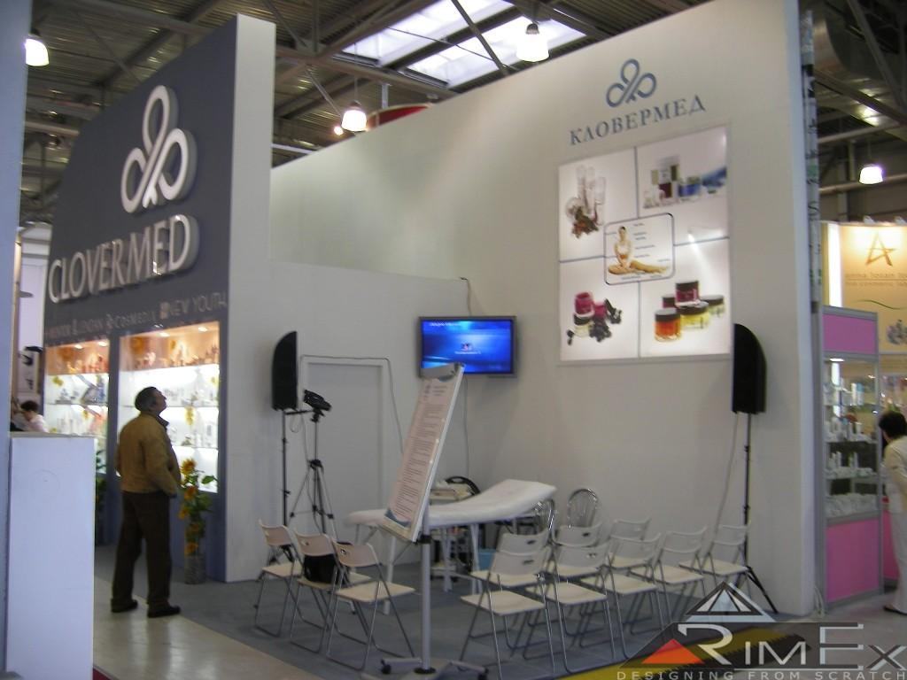 Компания Кловермед Clovermed Выставка Intercharm Интершарм