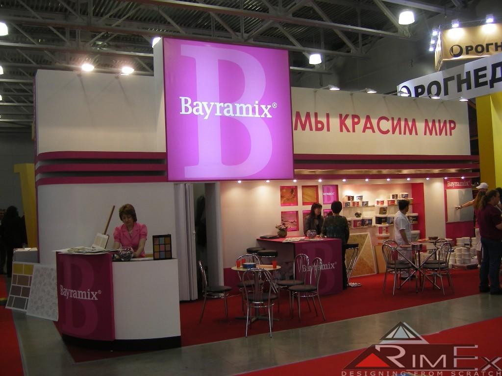 Компания Байрамикс - Bayramix Выставка Мосбилд - Mosbild