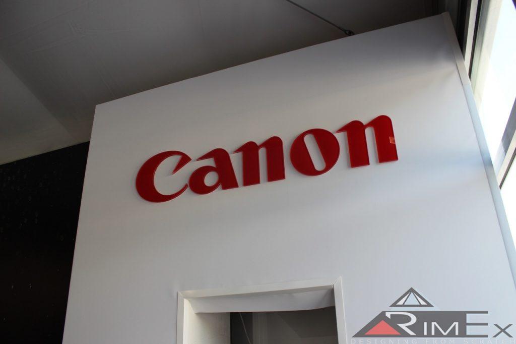 Объёмные буквы Canon