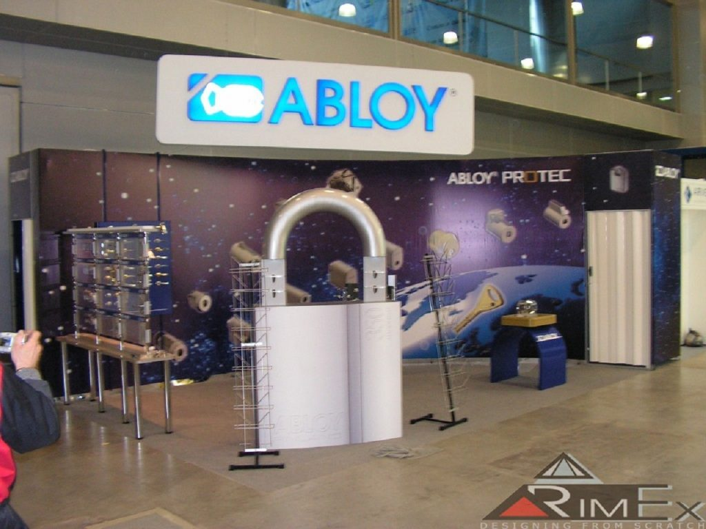 Компания Abloy Выставка Безопасность и противопожарная защита