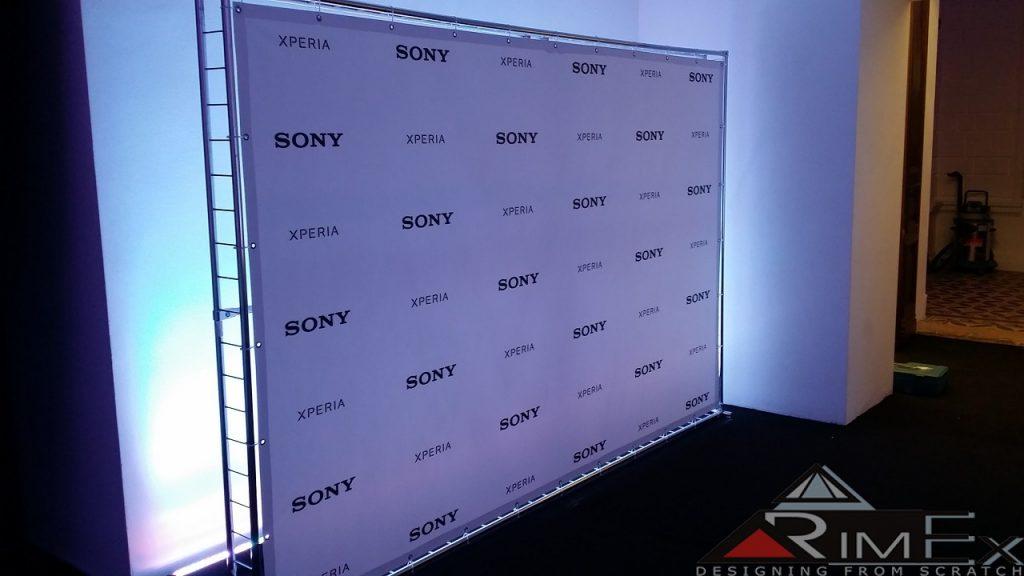 Пресс вол световой для Sony Xperia