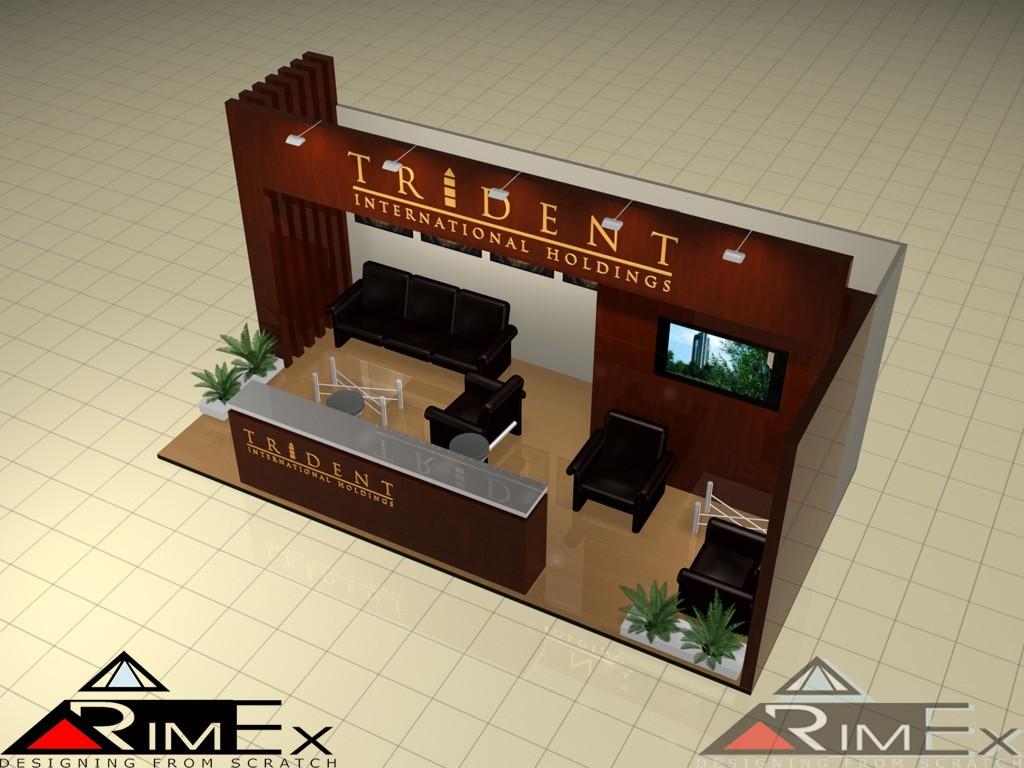 Компания Trident Выставка Экстраваганза Extravaganza