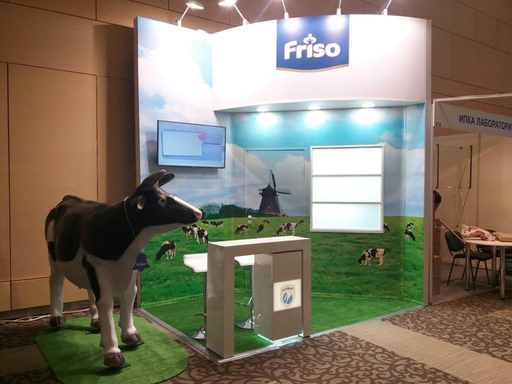 Friso - дизайн проект выставочного стенда