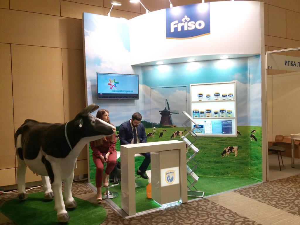 Friso - фото выставочного стенда