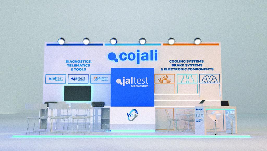 дизайн проект стенда cojali_Comtrans 2019